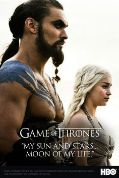 Game of Thrones. These two are totally my favorite!