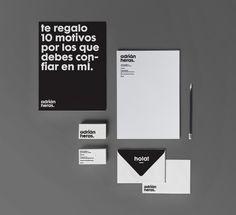 Personal brand by Adrián Heras, via #Behance