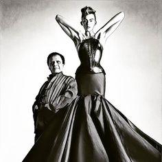 #azzedinealaia un grand monsieur de la mode vient de nous quitter #fashion #mode