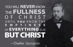 ~Charles Spurgeon