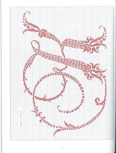 Gallery.ru / Фото #126 - Belles lettres au point de croix - logopedd