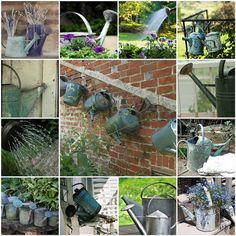 Things I love Thursday -- Watering Cans by LHDumes, via Flickr