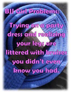 BJJ Girl Problems