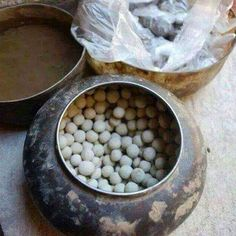 """The Yazidi Kurds use consecrated earth from the Laliş Valley to form it with the water of the White Source to solid spheres. They are called """"Berat"""" - holy Stones. These Stones are used in various religious ceremonies. ➡ https://m.facebook.com/Ezdayi-363575050361122/?refid=13"""