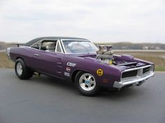 70s hot rods | 69 Charger street racer in Plum Crazy - Hot Rods/Street Rods/Street ...