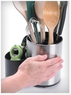 Rotating Kitchen Tool Crock - Kitchen Storage & Organization - Progressive International