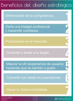 Beneficios del #diseño estratégico. Un buen diseño ayuda a vender más. Cómo podemos usar el #DiseñoEstratégico para lograr el éxito de un negocio.