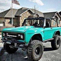 Bronco - want Bronco Truck, Jeep Truck, Cool Trucks, Chevy Trucks, Pickup Trucks, Lifted Trucks, Lifted Ford, Lifted Dually, Old Ford Bronco