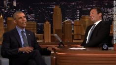 "President Obama appeared on ""The Tonight Show With Jimmy Fallon"" to slow jam the news, tout his record, and poke fun at a potential successor."