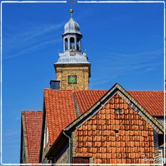 Impressionen aus Goslar - In der Altstadt: Turm der Stephani-Kirche.    Impressions from Goslar.