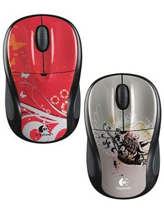 Decided not to bring the desktop to school? Sick of his or her laptop touchpad? Consider plugging in a mouse, like these cute, wireless ones from Logitech.
