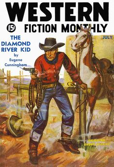 Western Fiction Monthly 1936-07