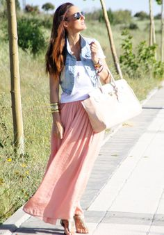 Primark  Vests, Primark  Bags and Zara  Skirts