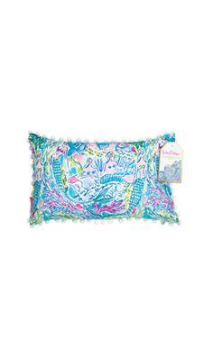 Medium Indoor/Outdoor Pillow - Mermaid | Lilly Pulitzer