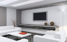 Minimalist Interior Design With Comfy White Sofa And White Coffee Table Design And White Living Room Furniture Sets With Tv Cabinet Design Living Room Interior Design And Marble Floor Costa Mesa Apartments Interior Design Minimalist, Best Interior Design, Modern House Design, Modern Interior Design, Interior Ideas, Interior Designing, Contemporary Design, Simple Interior, Nautical Interior