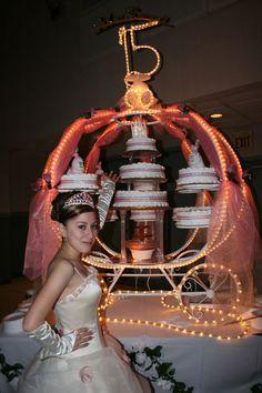 Princess / Cinderella Cake Carriage cakepins.com