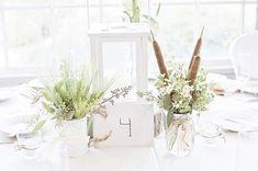cattails centerpieces wedding - Google Search