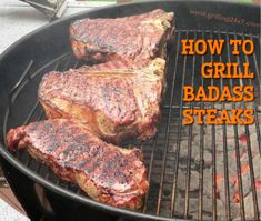 How to grill a steak