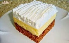 Mamina jela: Kocke s nutellom i vanila kremom Simply Recipes, Sweet Recipes, Cake Recipes, Greek Sweets, Greek Desserts, Cyprus Food, Blog Food, Kolaci I Torte, Food Tags