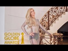 Trying On Dresses for the Golden Globe Awards with Paris Hilton - YouTube