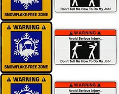 Decal Serpent Set of 3 Stickers Do Not Touch My Tools Or Daughter Hard Hat Helmet Sticker