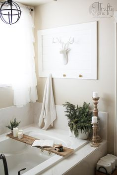 DIY Faux Shiplap. No Power Tools Needed. You Won't Believe This Technique! How to do shiplap. Shiplap bathroom ideas. Shiplap hallway ideas. How to put up shiplap tutorial. Easy DIY faux shiplap.