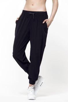 Inspired by life, these joggers have the versatility to get you to the gym and then dinner with friends without having to change. Packed with technical qualities, you'll not only look intensely stylish – you'll instantly feel the comfort of the light weight, 4 way stretch fabric. So go ahead and getting jogging – whether that's literally or by pulling these bad boys on. Functions: elasticity 4-way stretch, light weight, quick dry.   Deja Jogger by Titika Active Couture. Clothing - Bottoms…