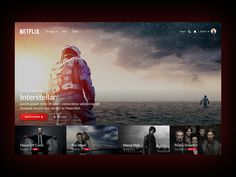 Netflix Spotlight - Mery J Kendy App Ui Design, Interface Design, Page Design, User Interface, Pitch Presentation, Human Centered Design, Movie Website, Tv App, Design Web