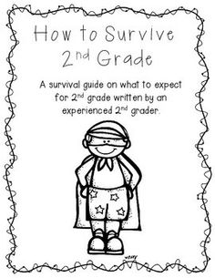 Cute for 2nd Grade!  Current students fill it out for the future students next year.  It tells them about the class and teacher.  Leave it for new students at open house next year!