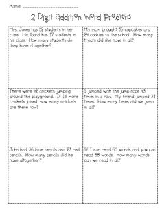 addition with regrouping word problems