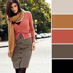 Zemita kombinace barev