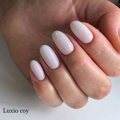 Want some ideas for wedding nail polish designs? This article is a collection of our favorite nail polish designs for your special day. Simple Nail Art Designs, Easy Nail Art, Oval Nail Designs, White Nail Art, White Nails, White Almond Nails, Neutral Nail Art, Nailart, Nail Polish
