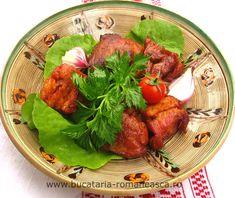 Carne de porc in untura Pork Ribs, Pork Chops, Food Dishes, Main Dishes, Pork Casserole, Romanian Food, 20 Min, Eat, Recipes