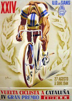 Vuelta a cataluna 1944 #bikes