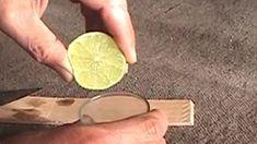 Como fazer um carta secreta com tinta invisível de limão. Experiência de química fácil de fazer.