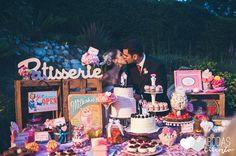 La mesa de postres de la boda de Yanina e Iván. Bodas de CuentoBodas de Cuento The Wedding Designers