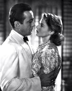 "Star-crossed lovers: Rick and Ilsa of ""Casablanca"""