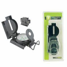 Aluminium Sighting Compass - camping gadget Camping Gadgets, Cool Gadgets, Outdoor Camping, Compass, Lifestyle, Outdoor Living, Camping, Cool Tech Gadgets, Cool Tools