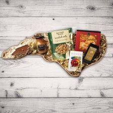 North Carolina Shaped Gift Basket - Southern Gift Southern Season Peanuts, Southern Season Honey Mustard