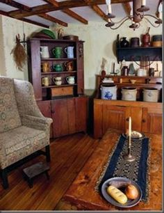 primitive homes crossword clue Primitive Living Room, Primitive Homes, Primitive Furniture, Primitive Kitchen, Primitive Country, Country Sampler, Primitive Bathrooms, Prim Decor, Country Decor