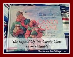 The Legend of the Candy Cane Poem, – Candy Cane Candy Cane Poem, Candy Cane Image, Candy Cane Ornament, Candy Cane Wreath, Candy Canes, Christmas Books, A Christmas Story, Christmas Fun, Candy Cane Decorations