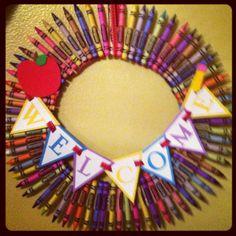 Rainy Day= Crafts   Classroom Wreath
