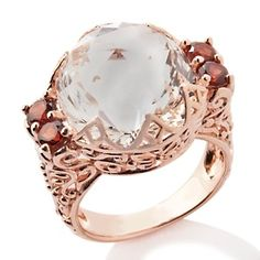 I don't care that it's from HSN, I'm obsessed with this ring. And it's on clearance for under $90....
