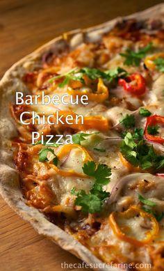 Super Thin Crusted Pizza, a Make-Ahead Technique & a Recipe for Barbecue Chicken Pizza - thecafesucrefarine.com