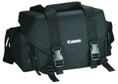 Canon 2400 SLR Gadget Bag for EOS SLR Cameras - Canon 2400 SLR Gadget Bag for EOS SLR Cameras Bag measures 11 by by inches (width x height x depth)Water-repellant nylon fabricHolds 1 SLR camera body with 3 to 5 lenses, flash and small acce Canon Camera Bag, Camera Case, Camera Gear, Slr Camera, Camera Tips, Leica Camera, Nikon Dslr, Camera Backpack, Dinghy