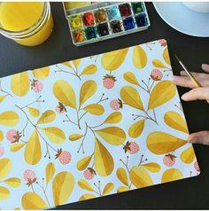 Watercolor painting by Kirsten Sevig (ig: kirstensevig)