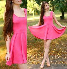 Pembe Elbise Modelleri (14) | Moda, Kıyafet Modelleri, Bayan Giyim