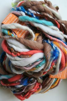 love this yarn! i would love to make a big chunky scarf out of this!!!
