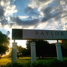 A beautiful morning on the Baylor campus! (Via @BaylorHireABear on Instagram)