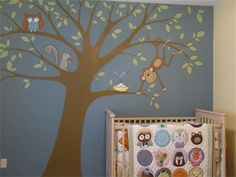 Whimsical Walls - Baby Rooms - Neenah, WI See how the wall and quilt match